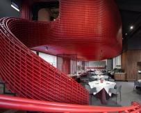 超高颜值烤鸭店的设计新生,全感官空间艺术营造 | 屋里...